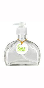 a776c104aa9c Amazon.com: Couronne Company B5016PC00 Rio Recycled Glass Lotion or ...