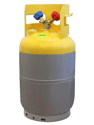 30 lb refrigerant recovery tank mastercool