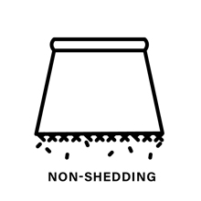Non-shedding