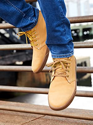 groveton wheat sneakers, gumsole, chukkas