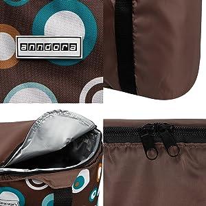 anndora 2 in 1 Tasche Details