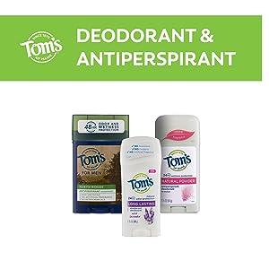 Tom's of Maine Deodorant & Antiperspirant