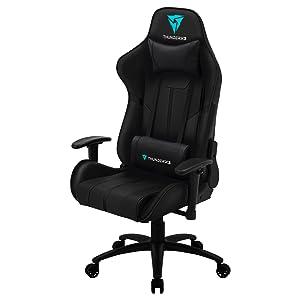 Detalles profesionales. La BC3 muestra las mejores prestaciones que podrías desear para una silla gaming.