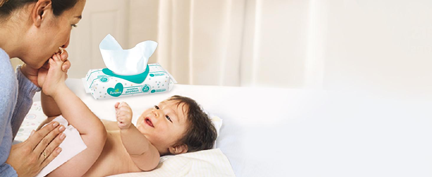 Pampers Sensitive Protect Feuchttüchern