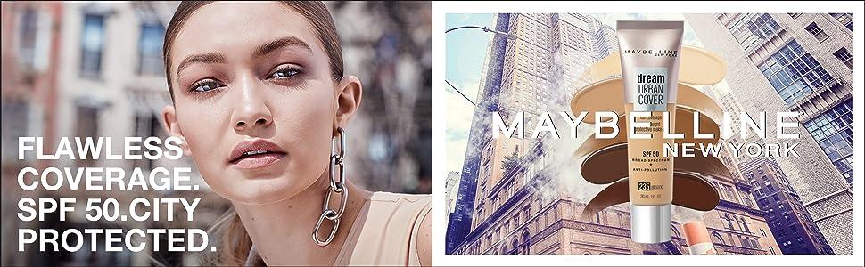 dream urban cover foundation bb cream it cosmetics spf 50 maybelline