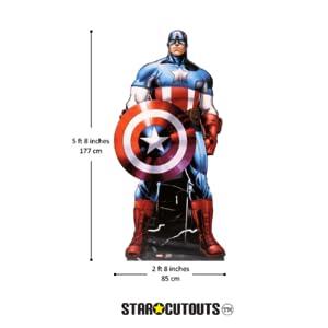 heoght Capitán América