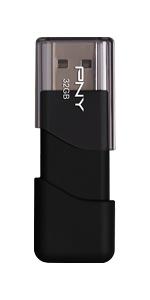 32GB Attaché 3 USB 2.0 Flash Drive