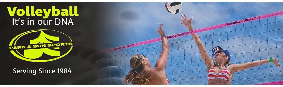 Grass volleyball set, outdoor, beach, sand, grass