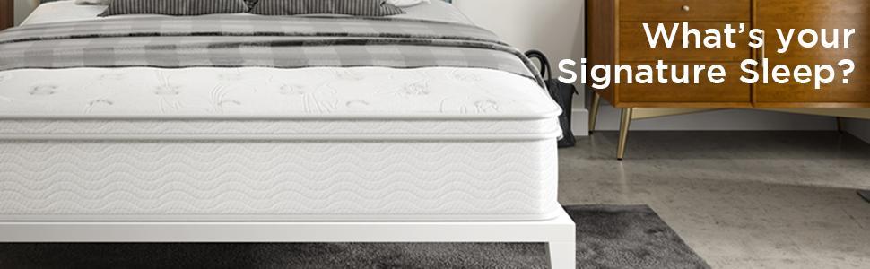 zinus foam sleep mattress