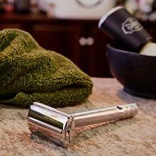 double edge safety razor, vintage shave, razor for men, bevel, gillette, shave, razors