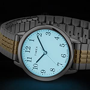 Timex Easy Reader Perfect Fit Indiglo
