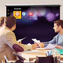 BenQ Business Smart Projector Boosts meeting efficiency by completing tasks on the spot.