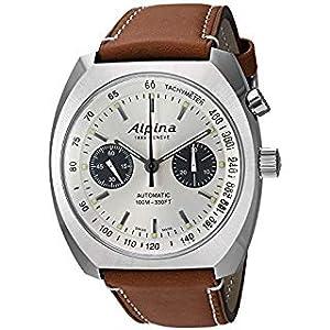 Alpina Startimer Swiss Watch, Swiss Movement, Pilot Watch