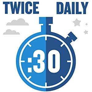 Swish twice a day for 30 seconds