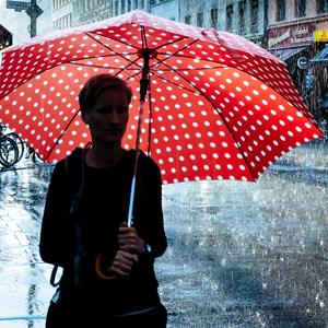 Straße Regen