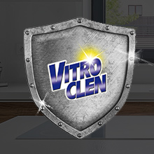 Vitroclen Crema - Limpiador específico para placas de vitrocerámic, tamaño 450 ml paquete de 2