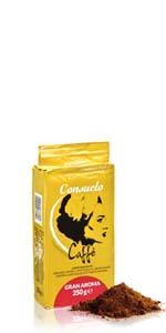 Café en grano Gran Aroma 1kg · Café en grano Gran Aroma 500g · Café en grano Gran Aroma 250g · Café molido Gran Aroma 250g