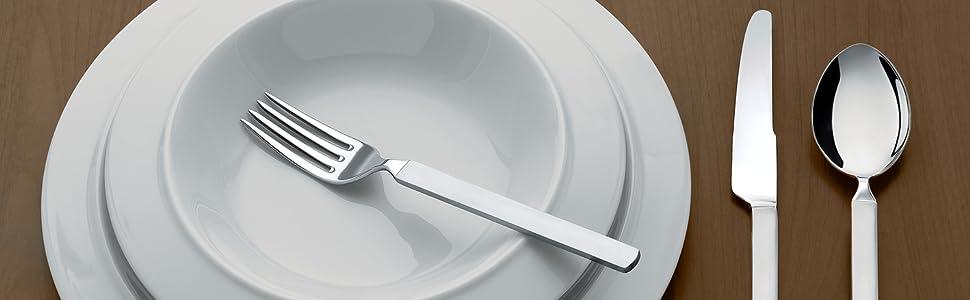 Alessi Servizio di posate Dry, design Made in Italy