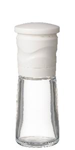 京セラ ミル セラミック 90ml ホワイト スパイス ペッパー 結晶 塩 粗さ 調節 機能 Kyocera CM-15N-WH 挽き たて 立て サビ ない さび コショウ 柚子皮 七味 山椒 花椒