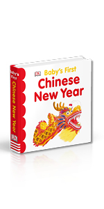 """Book cover for DK's """"Baby's First Chinese New Year"""""""