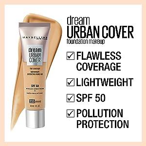 dream urban cover foundation bb cream it cosmetics