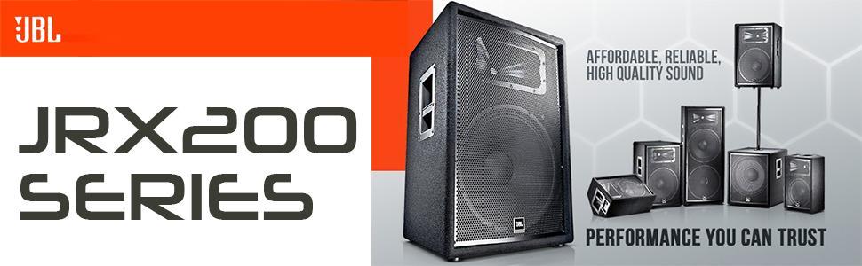 JBL JRX200 Series — Hệ thống loa hội trường chính hãng
