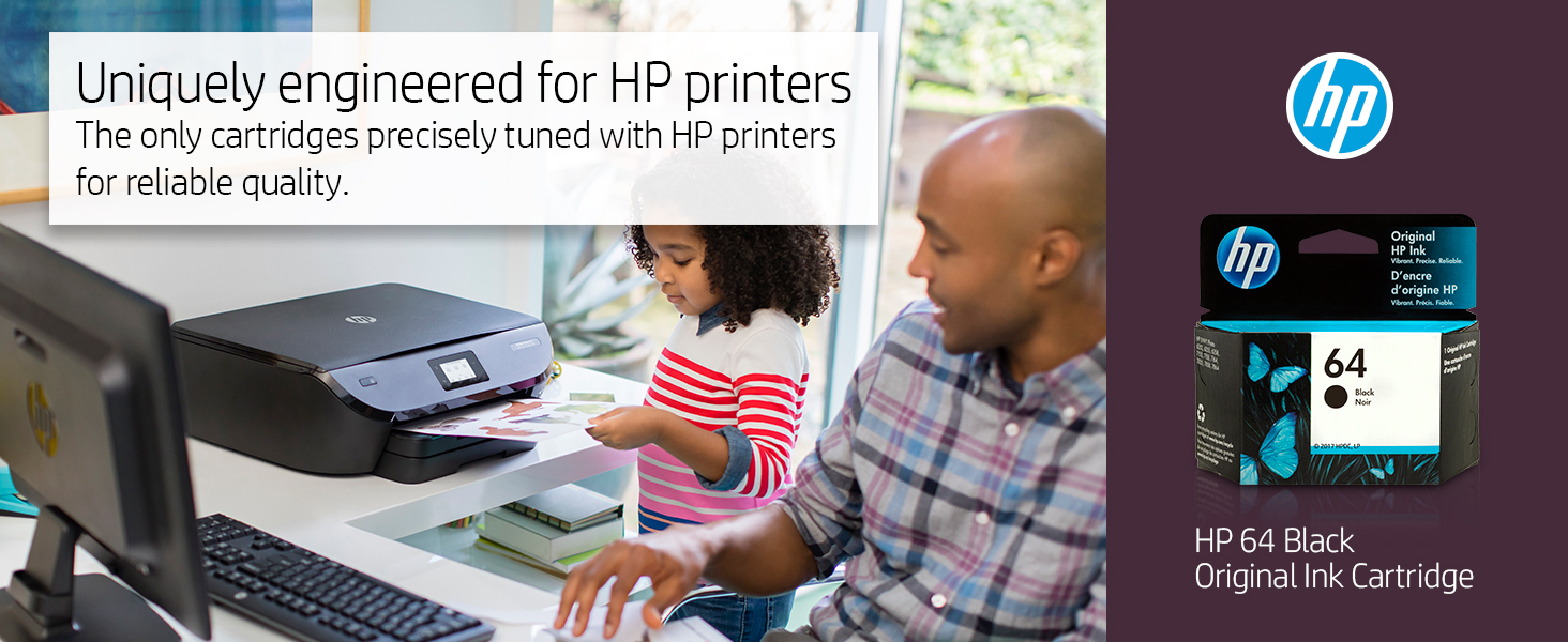 64 black color tri-color xl combo pack hp ink cartridges cartridge printer Hewlett Packard