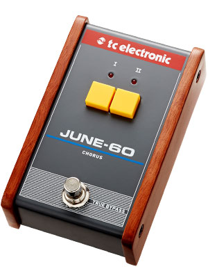 TC Electronic June 60 Legendary Stereo Chorus BBD Circuitry