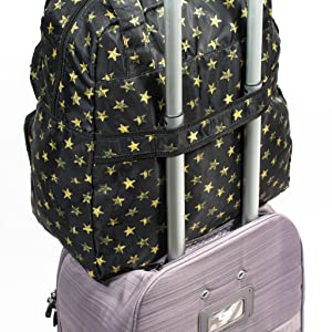functional, function, trolley sleeve, carryall, features, travel, vacation, duffel, luggage