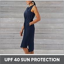 UPF 40 Sun Protection