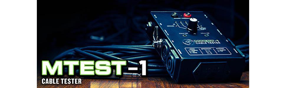 Mackie MTEST-1 - Comprobador de cables