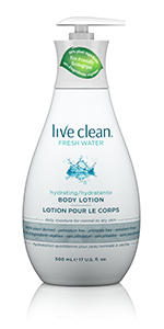 Live Clean Fresh Water Body Lotion