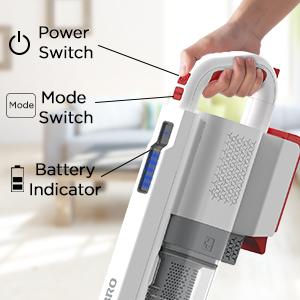easy TURBRO Doubtfire D16 Cordless Vacuum Cleaner