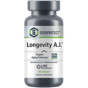 longevity, AI, healthy aging, aging, youthful, stem cell