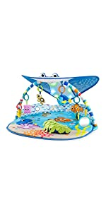 MR. RAY Ocean Lights Activity Gym from Bright Starts