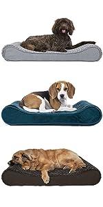 contoured; luxe lounger; mattress; dog; cat; pet; bed