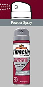 Tinactin AF Athletes Foot Powder Spray athletic antifungul tineacide