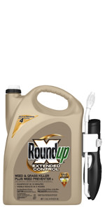 Roundup Ready-To-Use Extended Control Weed & Grass Killer with Comfort Wand