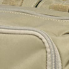 Resilient 500D Nylon Construction with YKK Zippers