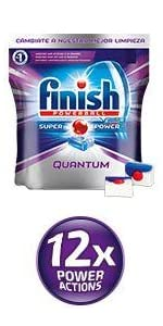 Finish Quantum Regular Pastillas para Lavavajillas - 26 + 14 ...