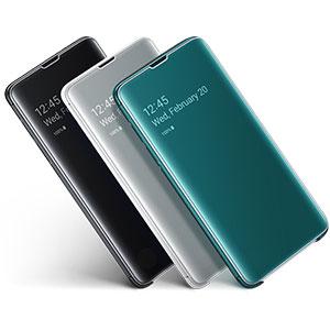 Samsung Clear View Cover für Galaxy S10 Schwarz: Amazon.de