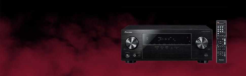 Pioneer, Receiver, Bluetooth, Dolby, 4K, HD, 3D, Blu-ray