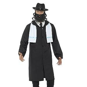 SmiffyS 20423M Disfraz De Monja Con Vestido Cinturón Y Toca ...