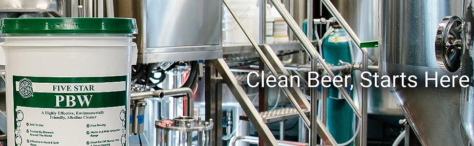 Clean Beer Starts Here Five Star
