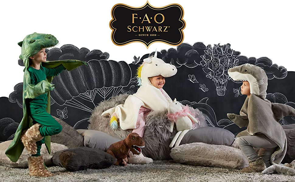 FAO Children Playing in Costumes