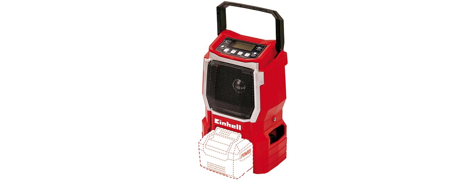 Einhell Aspirador inalámbrico TE-VC 18/10 Li-Solo Power X-Change (18 V, iones de litio, 10 L, incl. manguera de 2 m, boquilla de hendidura + boquilla de tapicería/universal, sin batería ni cargador): Amazon.es: