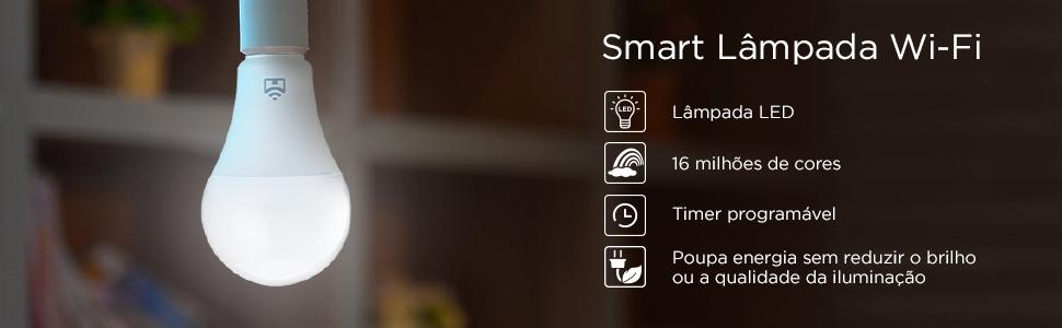 Positivo Casa Inteligente Kit Casa conectada smart lampada