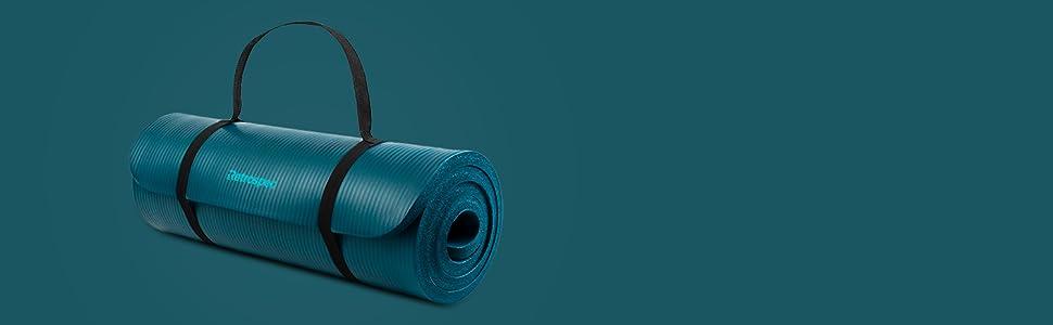 retrospec, incline, yoga, mat, fitness, pilates