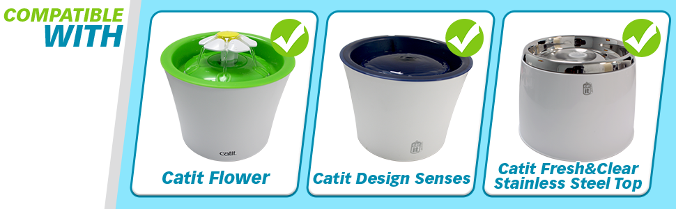 Amazoncom Pet Standard Filters For Catit Design Senses Fountains