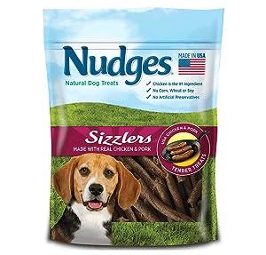 Amazon.com : Nudges Jerky Cuts Dog Treats, Steak, 18 Ounce